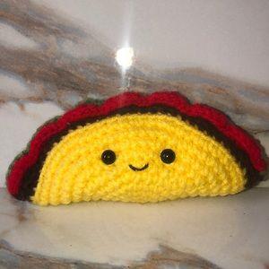 Crochet taco 🌮
